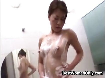 Hottie Spying My Asian Japanese Stepmom Masturbating