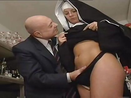 Nun And A Paphian - Hot Porn Scene